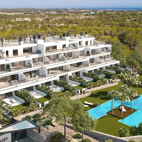 Winter Long Rental in Las Colinas Golf, Orihuela Costa / Luxury Apartment / HINOJO WT