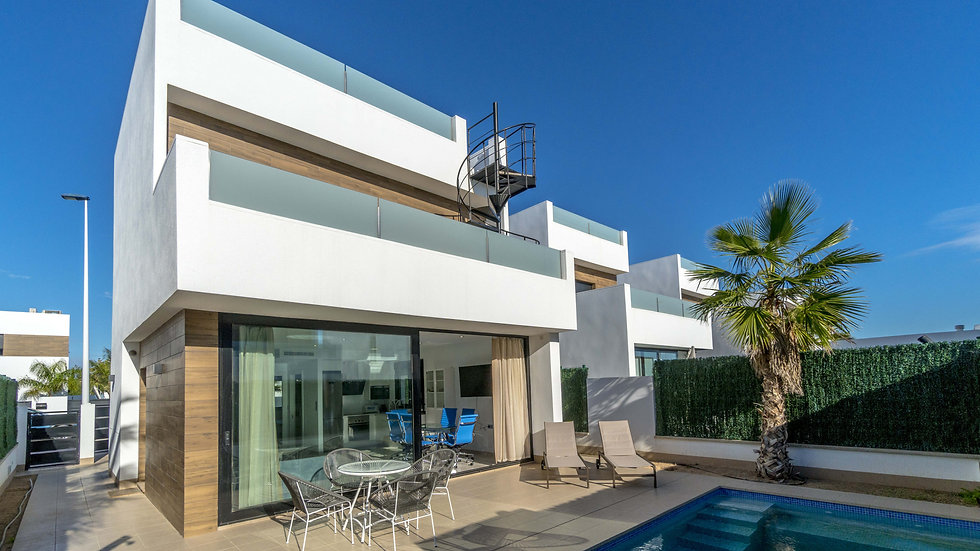 3 Bed Villa for Long Term Rental in San Pedro del Pinatar - 207LT