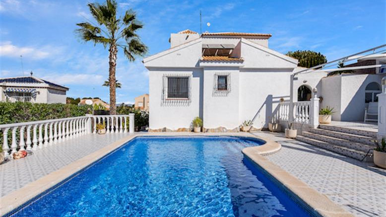 3 Bed Villa (6 Pers.) for Holiday Rental in Los Balcones, Torrevieja - 400ST
