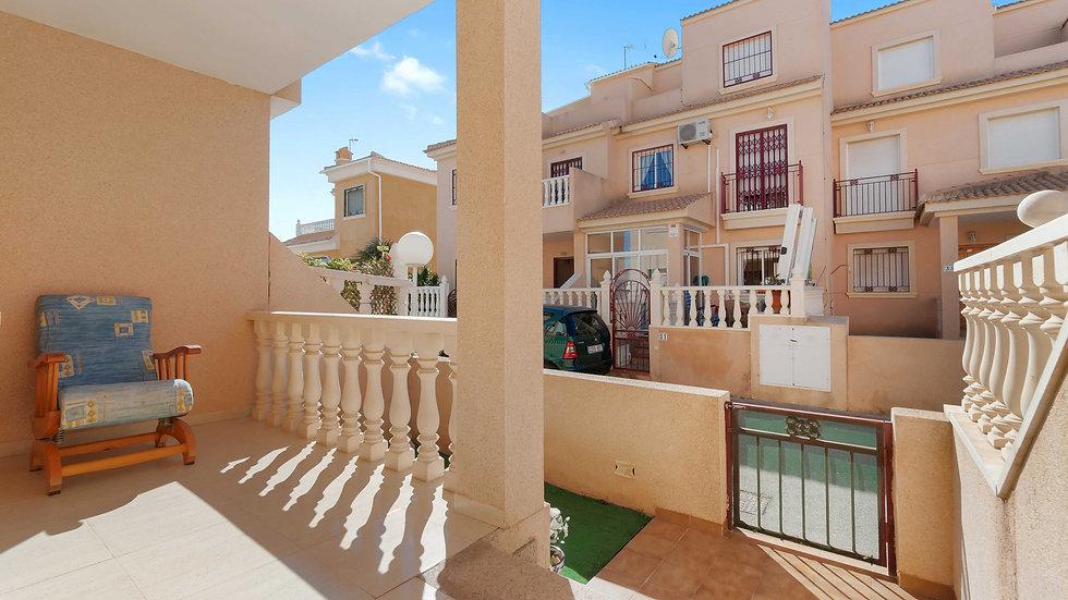 Long Term Rental in La Zenia, Orihuela Costa - 2 Bed Townhouse - 1000LT