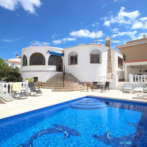 Winter Long Rental in Ciudad Quesada / Villa with Private Heated Pool / BLANCA WT