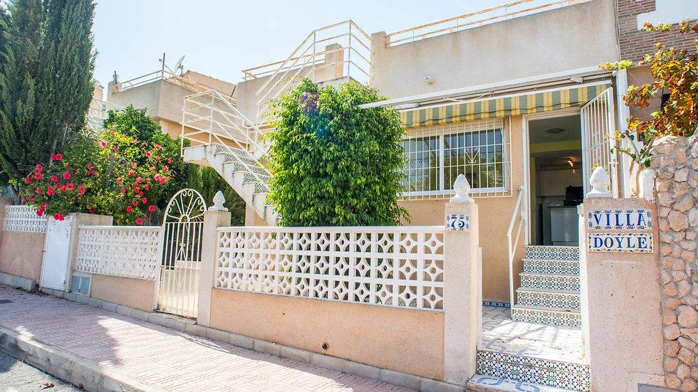 2 Bed Bungalow for Long Term Rental in Los Altos, Torrevieja - 800LT