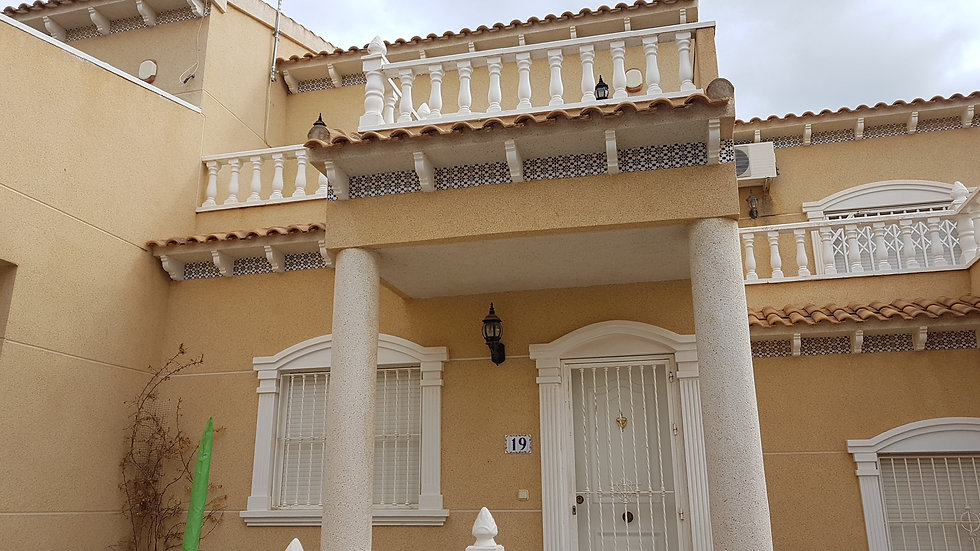2 Bed Townhouse for Long Term Rental in Las Filipinas, Orihuela Costa - 465LT
