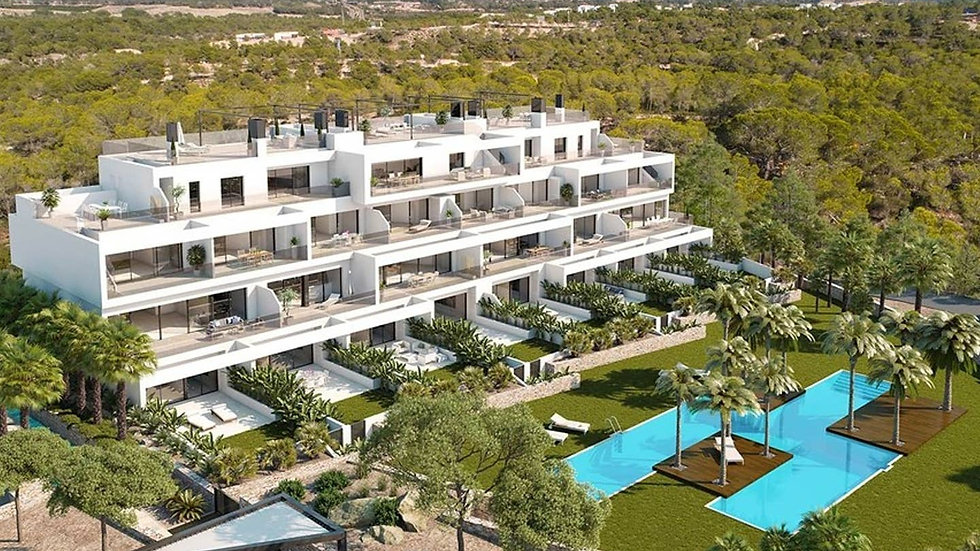 Long Winter Rental in Las Colinas Golf - Luxury Apartment - HINOJO WT
