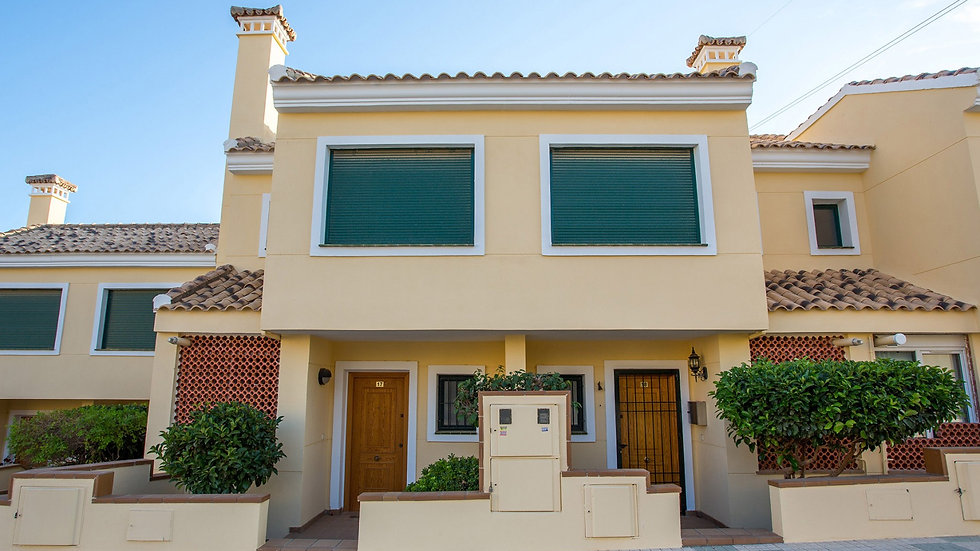 Long Term Rental in Campoamor Golf, Orihuela Costa - 2 Bed Townhouse - 570LT