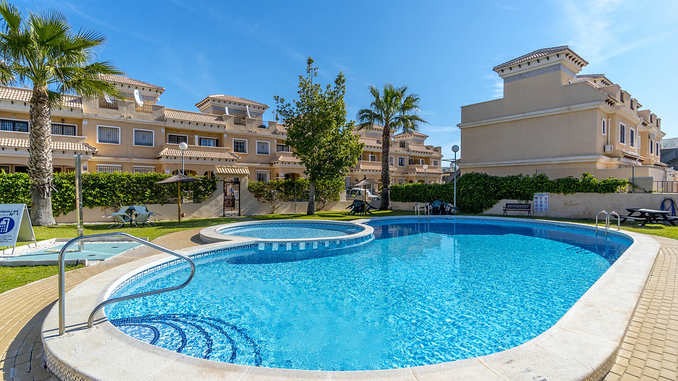 3 Bed Townhouse for Long Term Rental in Entregolf, Orihuela Costa - 785LT
