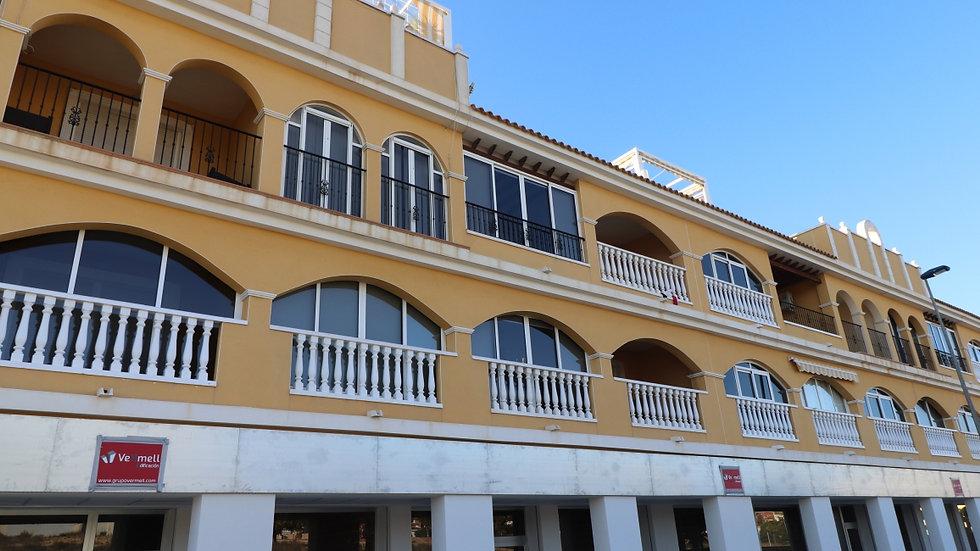 2 Bed Duplex for Long Term Rental in Benijofar - 1045LT