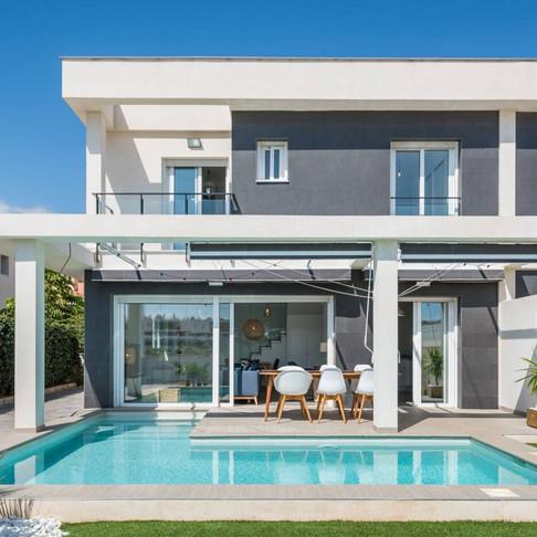 Holiday Rental in Gran Alacant, Santa Pola / Villa with Private Pool / hadVILLA MANGO