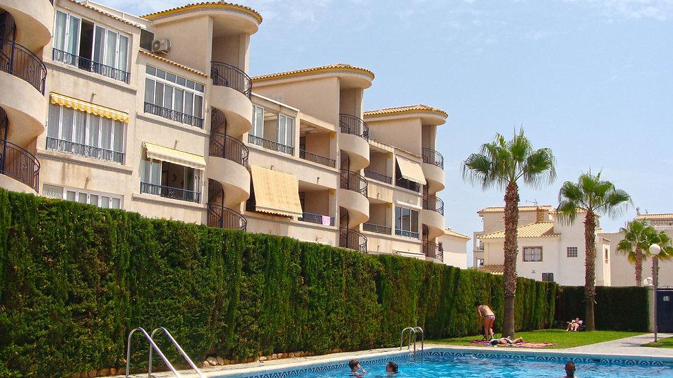 2 Bed Apartment for Long Term Rental in La Cinuelica, Orihuela Costa - 440LT