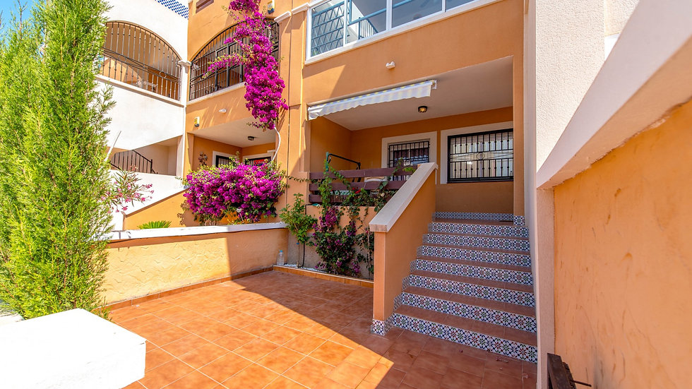 2 Bed Ground Floor Apartment for Long Term Rental in Orihuela Costa - 1120LT