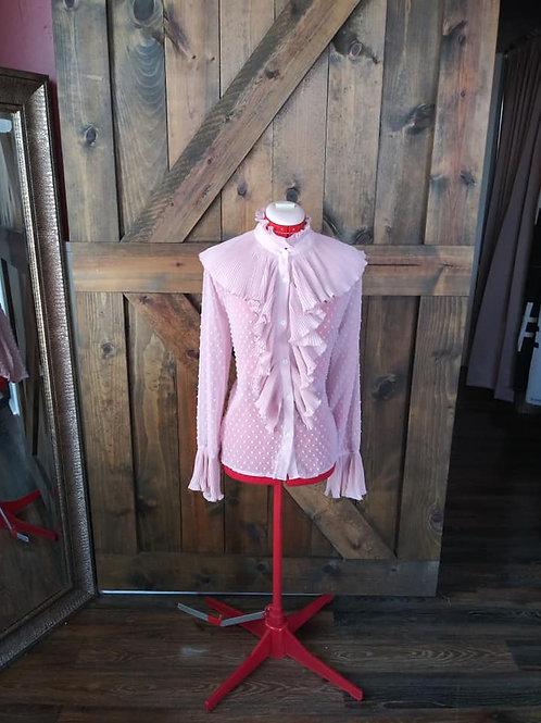 Poet ruffle blouse