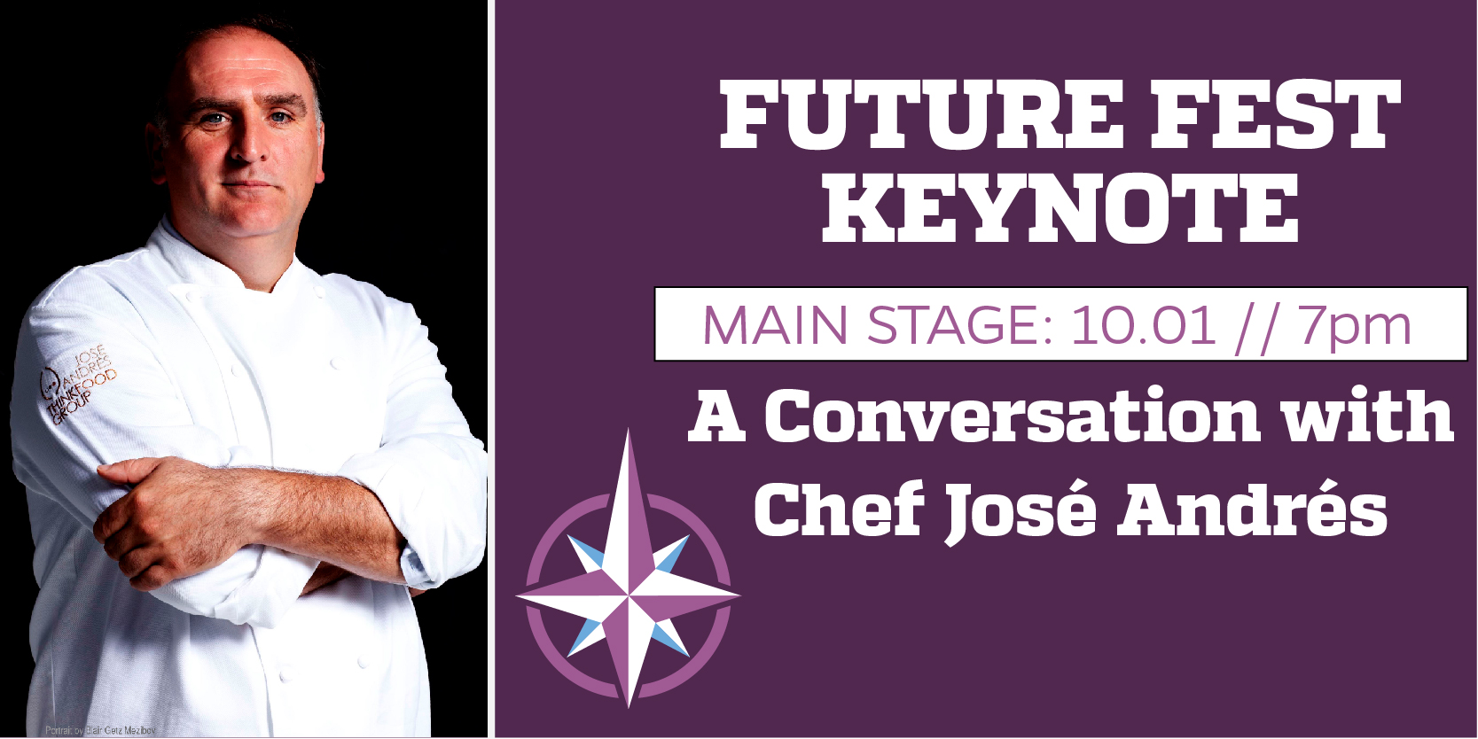 A CONVERSATION WITH CHEF JOSÉ ANDRÉS
