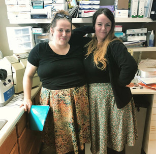 Whitney and Jillian, Student Midwives
