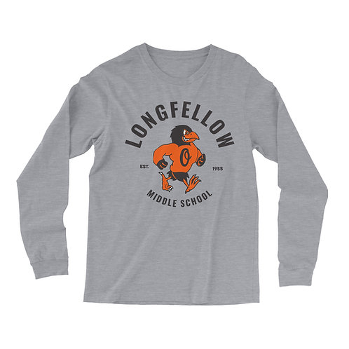 Longsleeve Giltee Limited Edition Longfellow shirt Grey