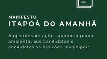 ADEA divulga Manifesto Itapoá do Amanhã para candidatos e candidatas às eleições municipais