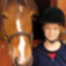 Mädchen und Pferd