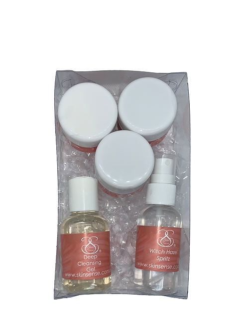 Luxury 5 Pack Mini Starter Set Oily & Acne Skin