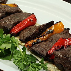 Shish Kabob Skewer (porterhouse steak)
