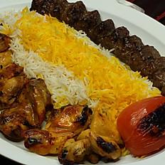 Beef & Chicken Kabob