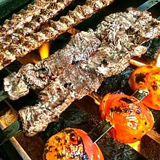 Lamb Filet Kabob Skewer
