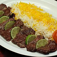 Filet Kabob Plate