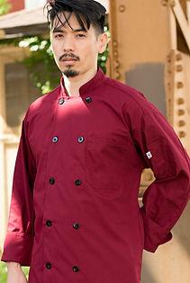 Classic Poplin Chef Coat #0413.jpg