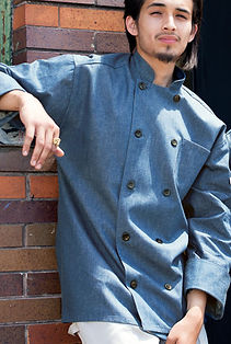 Chambray Chef Coat #0405C.jpg
