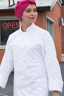 Classic Knot Chef Coat #0403C.jpg