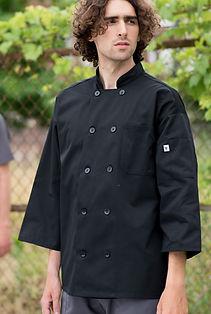 3-4 Sleeve Chef Coat #0410.jpg