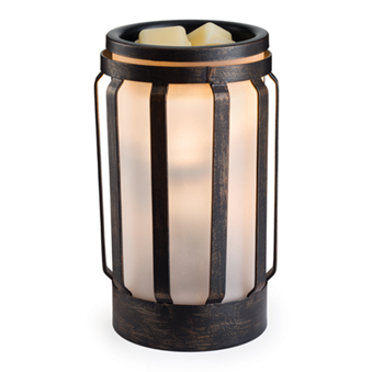 Hampton Metal and Glass Illumination By Candle Warmers