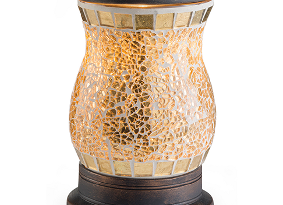 Gilded Glass Illumination By Candle Warmers