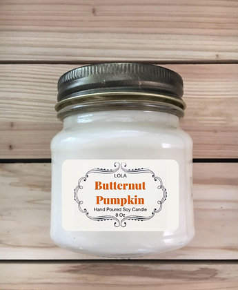 BUTTERNUT PUMPKIN CANDLE