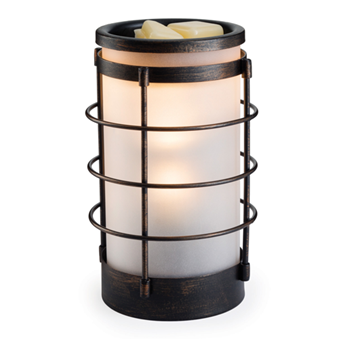 Coastal Metal and Glass Illumination By Candle Warmers