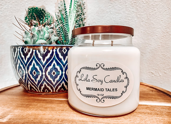 Soy Blend Candle With Double Wick