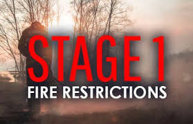 Fire Restrictions Implemented