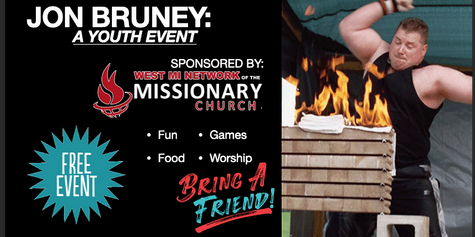 Youth Event with Jon Bruney