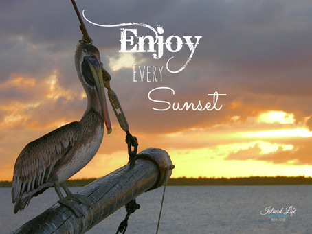 Enjoy every sunset.