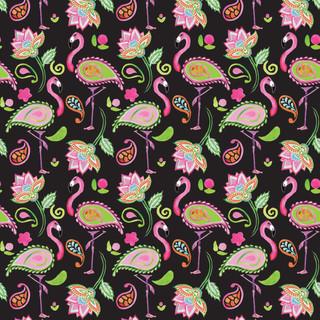 Flamingo Paisley