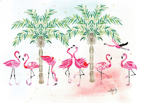 """Let's Flamingle"" Collection Inspiration"