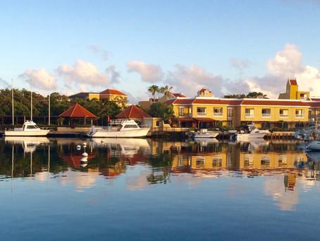 Sunrise and quiet Marina