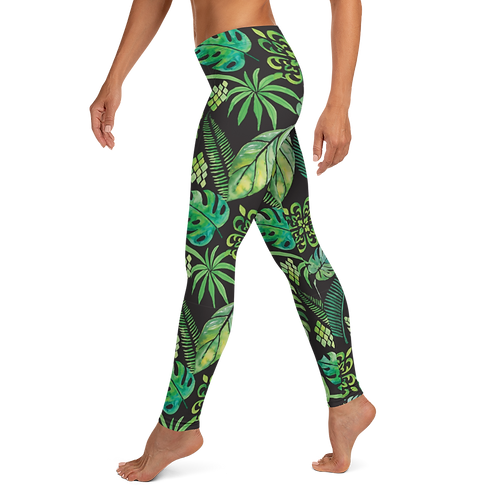 """Leaf it Be"" Leggings"