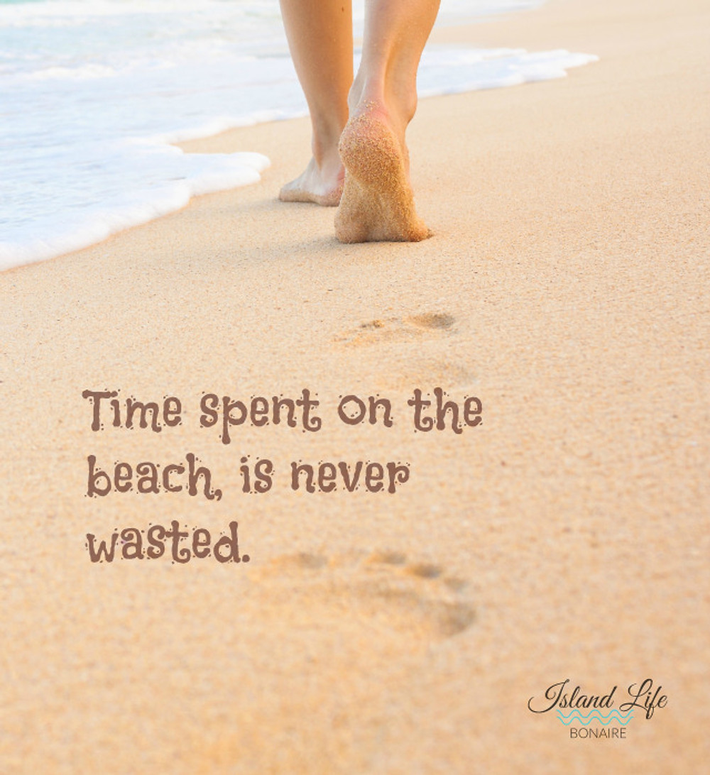 Time spent on the beach is never wasted.