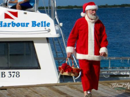Watch for Santa.
