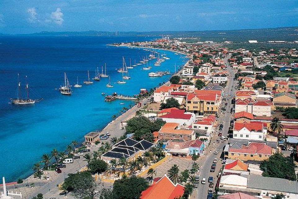 Kralendijk, the Capital of Bonaire