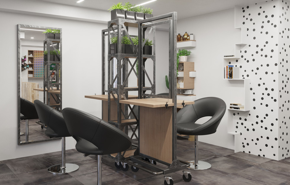 Design project of a beauty salon in the city of St. Petersburg