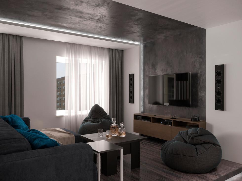 Loft style apartment in Paris