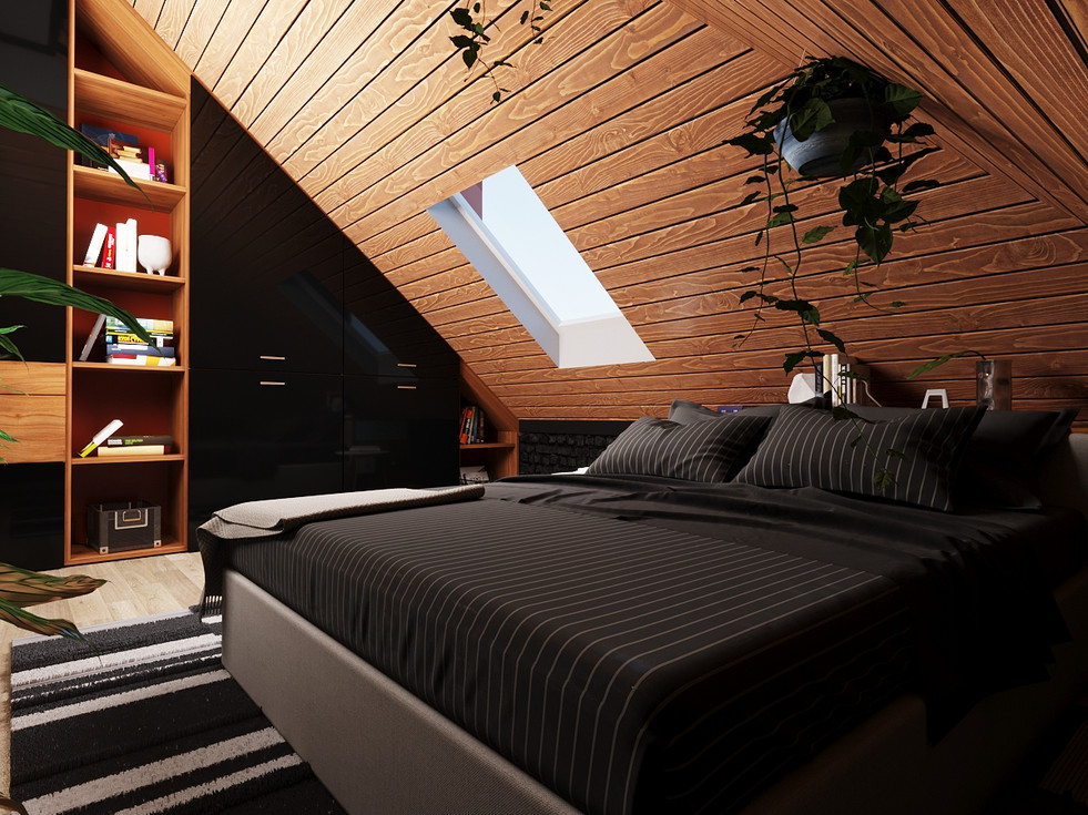 Design project of a ski resort in Italy. Design hotel rooms and public play areas