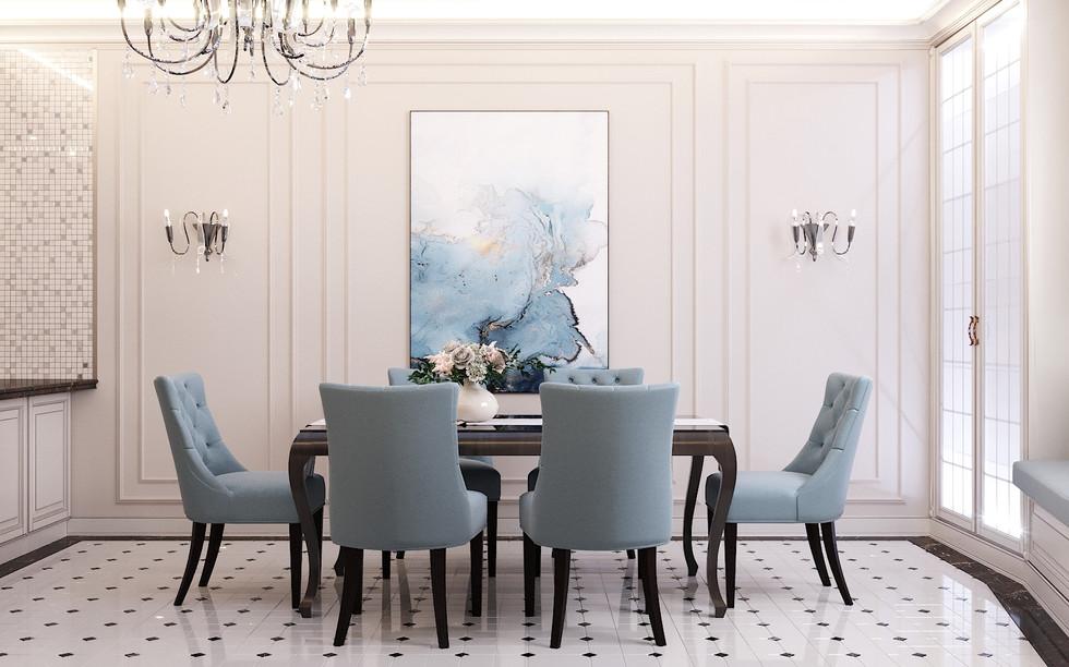 Design of a classic-style apartment in Paris