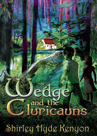 Wedge and the Leprechauns (Book Cover).j