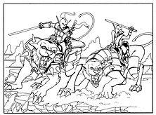 Max Stone - Battlecats - Copyright DC, L